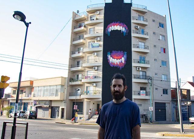 Avanza un nuevo mural en berazategui infosur estamos for Como pintar un mural infantil