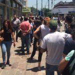 Otra vez el infierno de las colas en los bancos de Varela