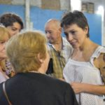 Antes de asumir en Quilmes, Mayra Mendoza se tatuó a Néstor Kirchner en su brazo